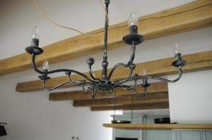 Marco Milcovich - hand made iron chandelier