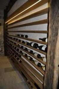Marco Milcovich - wine cellar in in oak wood